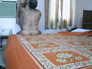 Mature Indian Couple Making Love In Bedroom