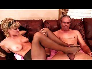 Retro naked mexican man