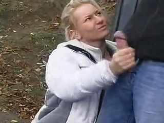 Handjob In The Street