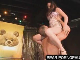 Male Strippers Get Blowjobs At Party
