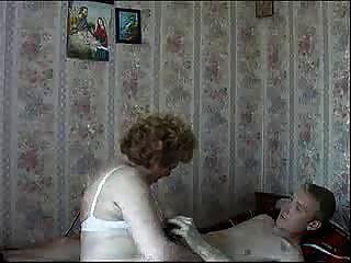 Granny Having Fun