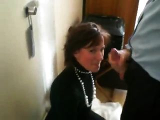 Hot Mom Blows And Swallows