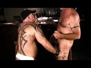 Daddy Bears Fucking In A Bar
