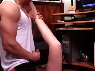 Busty Brunette Watch Porn With Friend