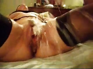 Wife Squirts And Has Multiple Orgasms With Vibrator