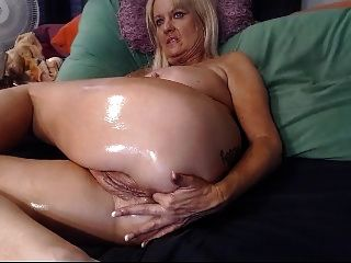 British brunette solo squirting all over herself webcams-4879