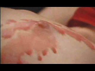 Lesbian Hot Wax Punishment