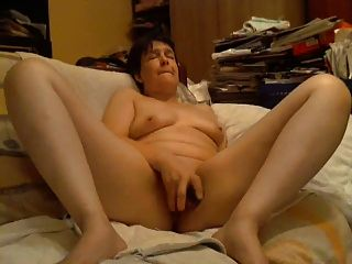 Wife Cums Hard As Husband Watches