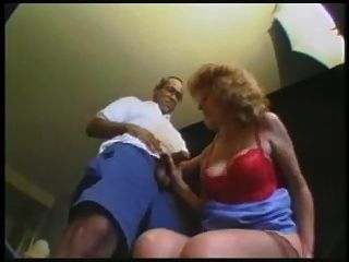 Granny Threesome #2 (the Slutty Hotel Manager Pops In)