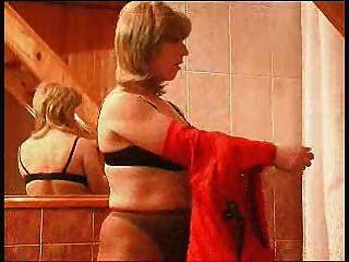 Lesbian Shower Seduction