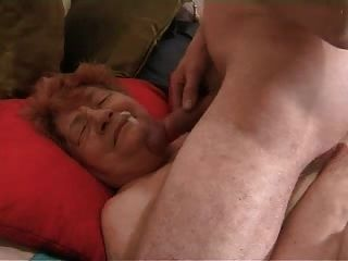 Opa wird gewichst