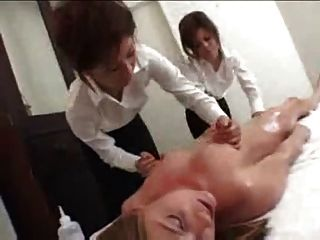 Home massage of japanese lingerie hand jobs