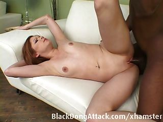 Teen Gets Fucked By A Big Black Cock