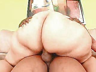 Big Butt Riding Cock