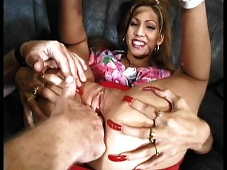 Maria Sexy Long Red Nails