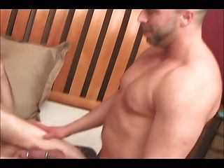 Muscle Dad Fucks Grandpa