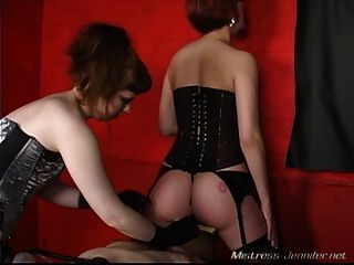 Scream Into Her Pussy While Your Cock Is Tortured