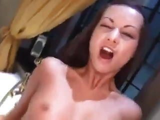 Analed haley paige gets a nasty facial 6