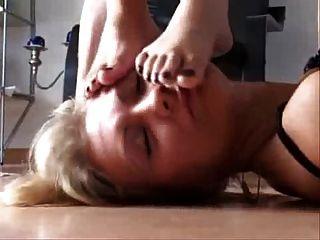 Feet Licking Trio