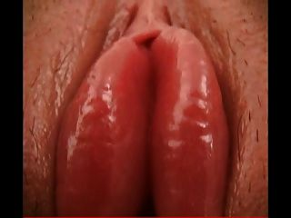 Cute Brunette With Awesome Swollen Pussy Lips