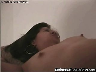 Midget Fucked And Creampied