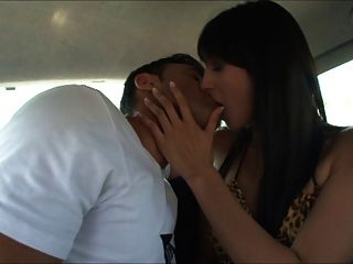Gigis french teen doing it in car and forest