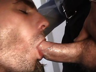 Hot Stud Swallows A Creamy Load