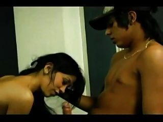 Colombian Latina Sucking