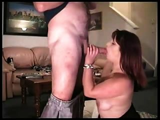 Wife watches husband suck cock tube consider, that