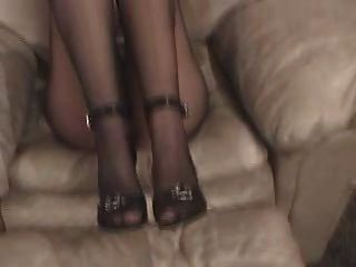 Pantyhose Stuffed In Pussy