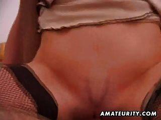Amateur Homemade Ffm Threesome With Cumshot