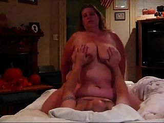 Big Tits Bbw Rides Cock