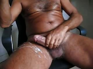 Hairy Daddy Big Cock Cum Explosion