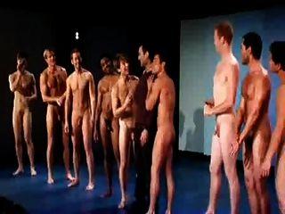 Male fashion model nude