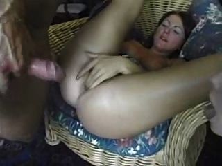 Amature Girl Taking A Huge Cock In Her Ass