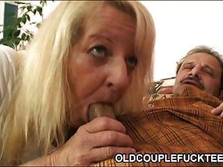 Old couple fucking railway slut 6