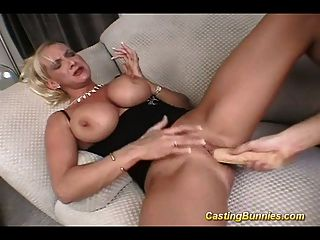 Casting Busty Bunny Fucking In Pussy And Anal Hard