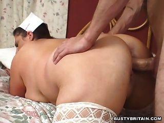 Big Tits Nurse Gives Relief