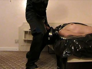 Lena Deepthroat Latex Slave Girl