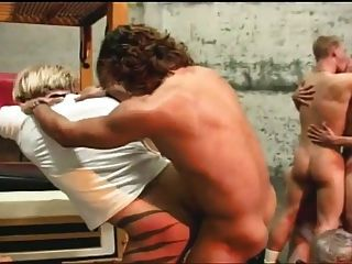 Gay Orgy Fuck Action For These Hot Guys