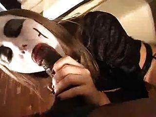 Crazy Goth Bitch Doin What White Bitches Do Best