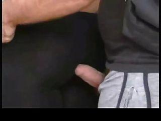 Super Hot Big Dick Cum On Pants