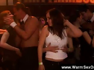 Naughty Girls Jerking Off Male Strippers