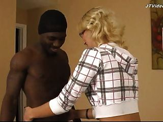 Ghetto Black Fucks 18 Yo Blonde - Preview