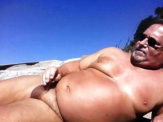 Beach Wanking