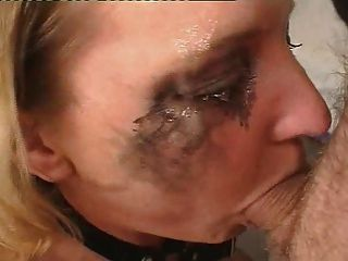 Chubby Blonde Girl In Hard And Deep Facefuck!!!