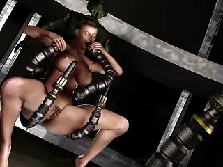 3d Animation: Robots Sex Attack