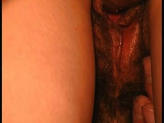 Closeup Hairy Creampie