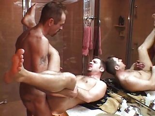 Daddy Fucks Not His Son After Shower