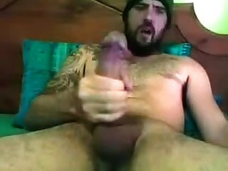 Str8 Tattooed Guy Huge Mushroom Head Dick